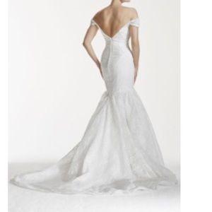 Zac Posen Dresses | Truly Lace Vback Wedding Dress | Poshmark